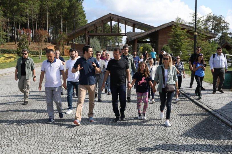 İstanbul Büyükşehir Belediyesi Başkanı Ekrem İmamoğlu KKO'yu ziyaret etti